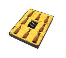 Rose Wood 8 Cigar Holder With Filter Set - 42 to 56 Ring Gauge