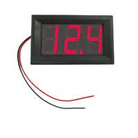 0.56 2 Wires DC 5-120.0V LED Panel Digital Display Voltage Meter Voltmeter Green