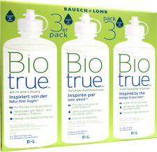 3 X 300ml 60ml Bio True All-in-one Lösung Von Bausch & Lomb Biotrue ANGEBOT