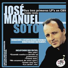 JOSE MANUEL SOTO-SUS TRES PRIMEROS LP'S EN CBS -2CD