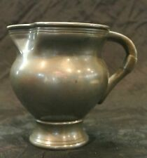 Vintage Royal Holland Pewter Kmd Daalderop Creamer