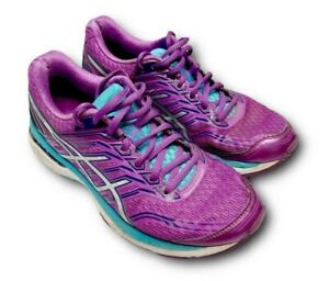 ASICS Womens GT-2000 Dynamic Duomax Running Shoes Sz 7 Magenta Sneakers Runners