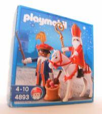 Playmobil Sinterklaas en zwarte Piet 4893 Neu & OVP Nikolaus Weihnachten