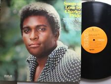 Country Lp Charley Pride Songs Of Love On Rca
