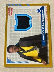 Topps Star Wars Rise Of Skywalker Costume Relic CR-LC Lando Trousers 08/25