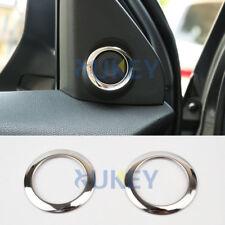 For Mitsubishi Outlander Sport Asx Rvr Chrome a Pillar Stereo Speaker Cover Trim