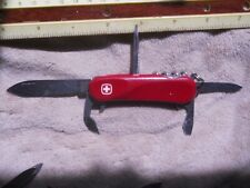 Wenger EVO 10 Swiss Army knife in red