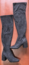 Raid Black over the knee thigh high boots Size 9