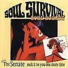 Soul Survival Soul Sounds/The Senate Sock It To You One More Time CD NEW