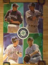 MLB Baseball Poster Seattle Mariners Collage ~ Ichiro Olerud Sasaki