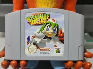 Mischief Makers Nintendo 64 N64 Genuine Cartridge Only PAL