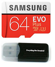64GB Samsung Evo Plus Micro SD Memory Card, For Samsung Galaxy S8, Note 8, S8+