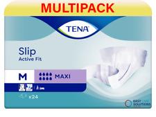 TENA Slip Active Fit Maxi (PE Backed) - Medium - 3 Pack of 24 - Case