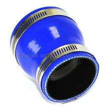 Silicone Hose Straight Reducer Blue PICK SIZE & Jubilee Clip