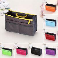 Womens Travel Insert Handbag Organiser Costmetic Stroage Bag Case Make Up Pouch