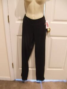 NWT SOFFE  BLACK NEW WAVE WARM UP PANTS  SIZE LARGE- WAIST-32 INSEAM-33.5