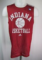 Indiana Hoosiers Basketball S-XL adidas Red Mesh #11 Practice Jersey NCAA A15