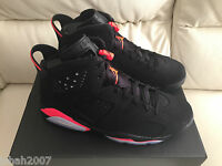 2014 NIKE AIR JORDAN VI 6 RETRO 23 BLACK INFRARED SIZE 1 2 5 5.5 6 11 NEW
