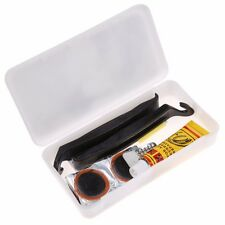 Bike Bicycle Carry Case Saddle Tyre Puncture Repair Tool Kit Cycling With Glue