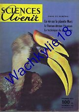 Science et avenir n°108 du 02/1956 Thorium Madagascar Becs oiseaux Stonehenge