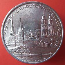Old Rare Switzerland token - Zurich 1939 - Aluminium pavillon-mehr am ebay.pl
