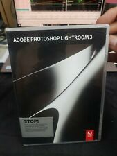Adobe Photoshop Lightroom 3 Original Disk -EXCELLENT- FREE SHIPPING