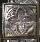 Antique Gothic Victorian Ceiling Tin Tile Canvas Shabby Chic Clover Quatrefoil
