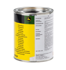 More details for john deere black paint 1l tin for mowers and tractors