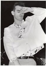 More details for morrisey photo 1984 unique unreleased image exclusive 12 inches london gem b&w