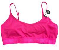 Victorias Secret PINK Ultimate Lightly Lined Light Support Sports Bra Pink M