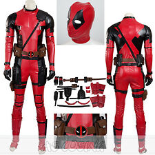 Deadpool Costume Wade Wilson SuperHero Costume Halloween Costume All Size