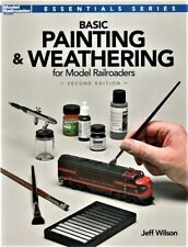 Kalmbach 12484 Model Railroader's Basic Painting & Weathering for Model Railroad