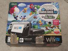 boite vide console Mario et Luigi Nintendo Wii U