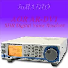 AOR AR-DV1 SDR Digital Voice Scanner + FAST DELIVERY FROM EU DISTRIBUTOR DV1