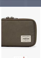Porter X Mackintosh Green Wallet Clutch Pouch *NEW WITH TAGS*