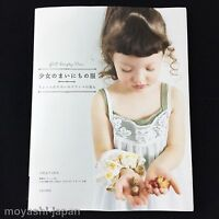 GIRLS EVERYDAY DRESS Sewing Patterns Book | Japanese craft Handicraft JAPAN