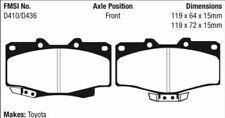 EBC Yellowstuff Brake Pad Set Front for 90-02 4 Runner / 95-04 Tacoma # DP4807R
