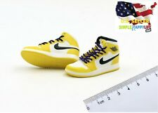 "1/6 male yellow sneakers shoes basketball Laker air for 12"" figure phicen ❶USA❶"