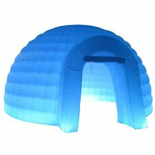 5x3mH New Inflatable Igloo Dome Tent with LED Lights Blower for Promotion Party