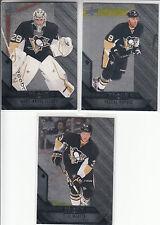 14/15 UD Black Diamond Pittsburgh Penguins 3 cards Fleury Dupuis Maatta