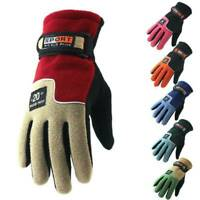 Mens Winter Warm Windproof Waterproof Fleece Lined Thermal Touch Screen Glove