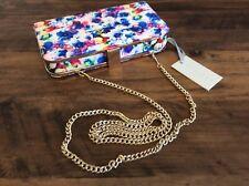 Ladies KURT GEIGER CARVELA Clutch Handbag Special Occasion Pink Multi NWTs £80