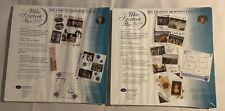 Creative Memories Original 12x12 White Album Refill Pages  2 packs New Sealed