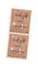 George V (1910-1936) Mint Hinged British Multiples Stamps