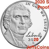 2020 S Jefferson Nickel US Mint Proof Set Early Strike Nickle 5¢ New Lowest 2019