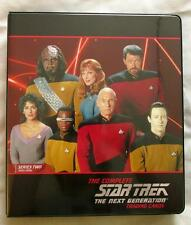 Complete Star Trek: The Next Generation Series 2 NEAR MASTER set of 279! Nimoy!