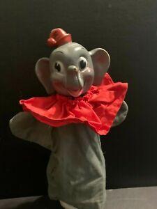 Vintage Dumbo Hand Puppet