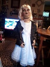 "ZOMBIE PROP BRIDE OF CHUCKY TIFFANY  DOLL 46"" LIFESIZE PROP CHILD MANNEQUIN"