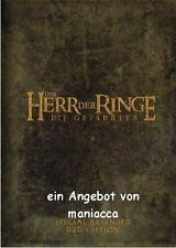 DER HERR DER RINGE - DIE GEFÄHRTEN | Special Extended Edition 4 DVDs #ZZ