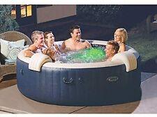 Intex Pure Spa Außen-Whirlpool 85 Bubble Massage für 6 Personen Ø x H: 216 x 71